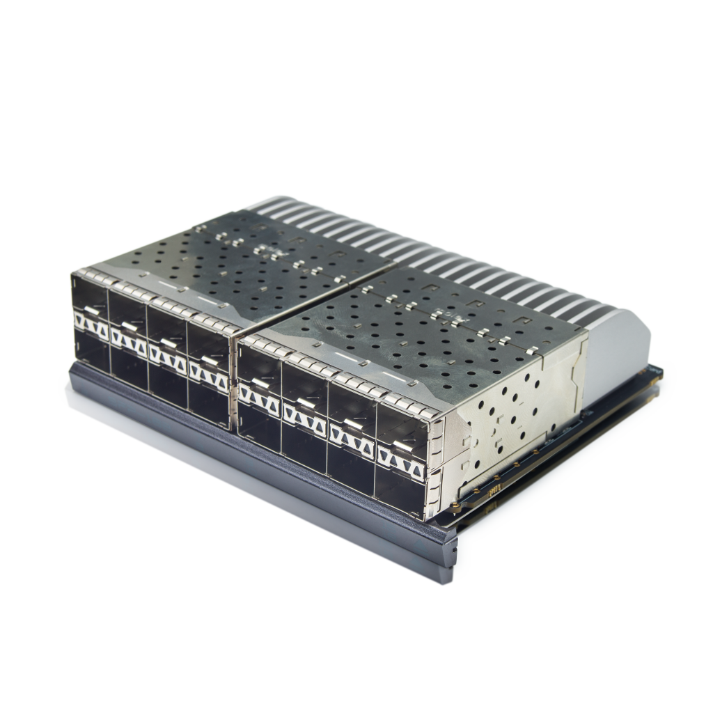 Picture of a 16 port, 10GbE Line card