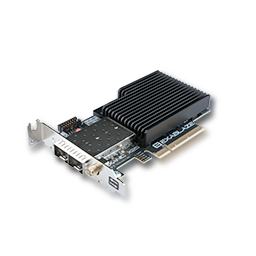 Photo of an ExaNIC X25 device